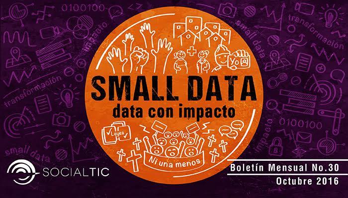 Datos que transforman historias. Small Data = Gran Impacto Social