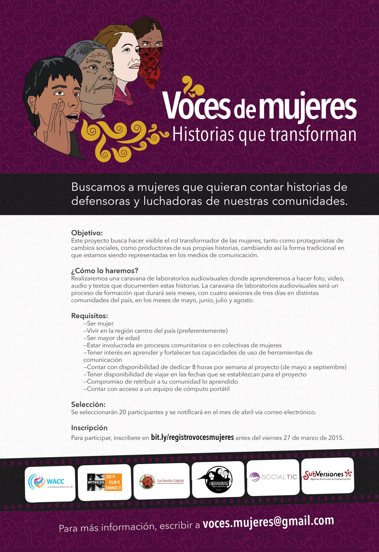 voces marzo