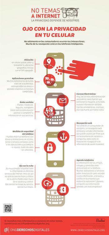 privacidad en tu celular