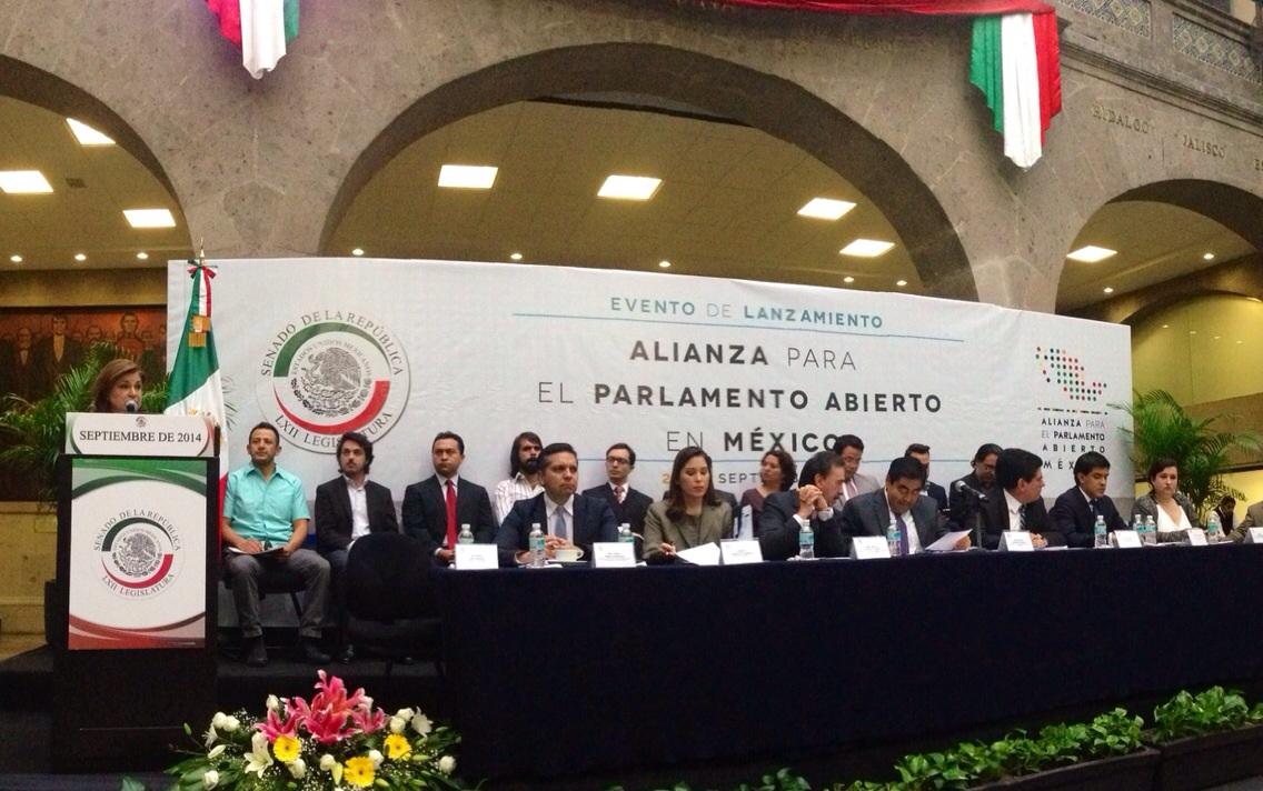 Lanzamiento de la Alianza para el Parlamento Abierto en México