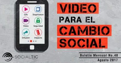 Video para el cambio social – Videotón 2017   Abrelatam y ConDatos 2017