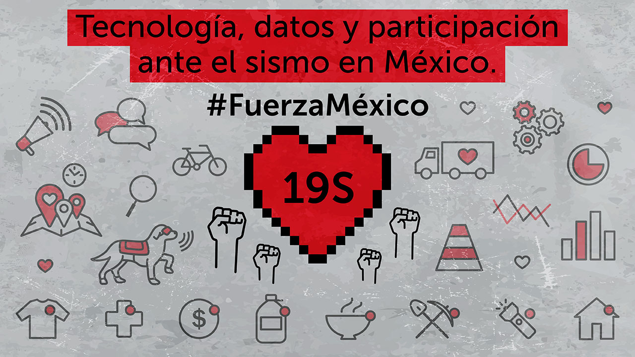 Tecnología Datos Y Participación Ante El Sismo En México Socialtic