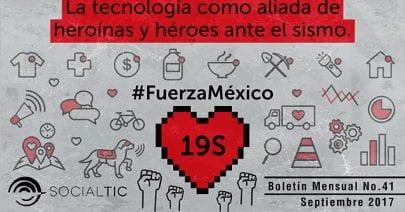 #FuerzaMéxico: participación ciudadana y tecnología