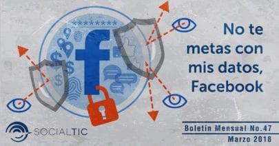 No te metas con mis datos, Facebook