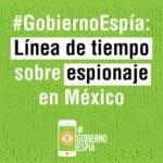 #GobiernoEspía: revelaciones sobre espionaje en México - Línea del tiempo