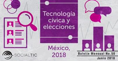 Tecnología cívica, datos y Elecciones 2018