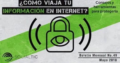 Así viaja tu información cuando navegas Internet