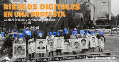 Protestas y riesgos digitales: Reconocimiento facial – Geolocalización