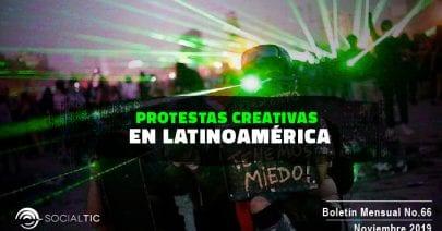 Protestas creativas en Latinoamérica