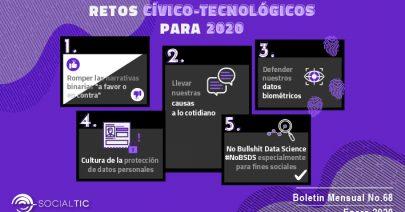 Retos cívico – tecnológicos para el 2020