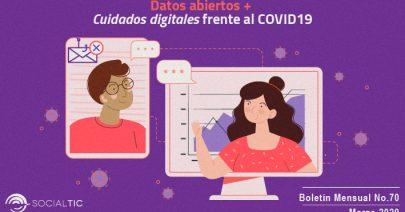 Datos abiertos 📊 🌎 + Cuidados digitales frente al COVID19 🦠