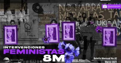 Análisis 8M: Activismo feminista y qué se publicó en Facebook el día de la mujer