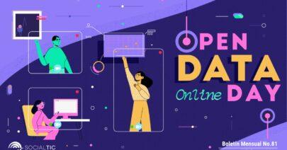 🎉 Ya viene el #OpenDataDay 2021 En línea